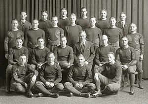 1921 Michigan Wolverines football team - Image: 1921 Michigan Wolverines football team