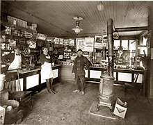 1922 Detroit store