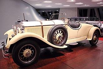 Mercedes 24/100/140 PS - Mercedes-Benz 24/100/140 PS Roadster (1926)