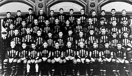 The 1926 National Championship football team 1926 Navy National Championship Team.JPG