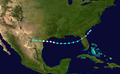 1934 Atlantic hurricane 3 track.png