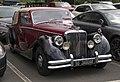 1950 Jaguar Mk V DHC, front right (Greenwich).jpg
