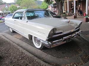 Lincoln Capri - 1956 Lincoln Capri Coupe