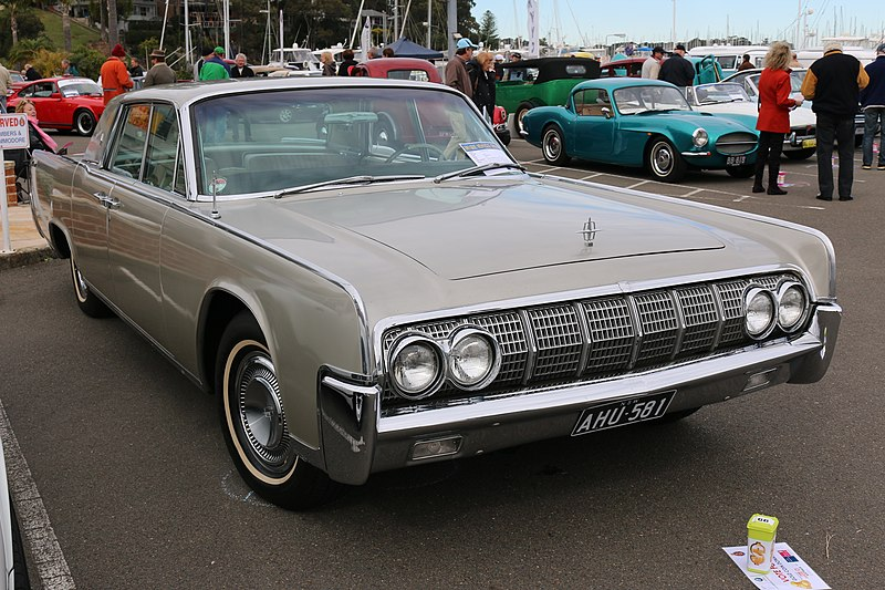 File:1964 Lincoln Continental (28446300583).jpg