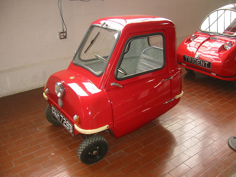 File:1965 Peel P50, The World's Smallest Car (Lane Motor Museum).jpg
