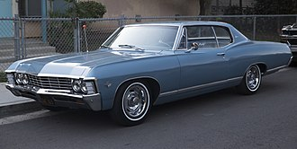 Chevrolet Caprice - 1967 Chevrolet Caprice coupe