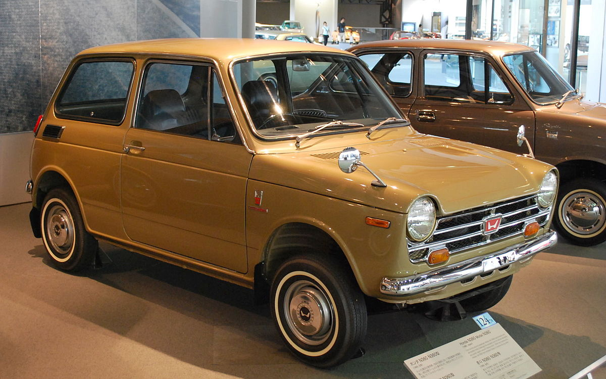 Honda N360 Wikipedia 1970 Civic Hatchback