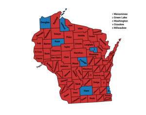 1972 presidential election results in Wisconsin.png