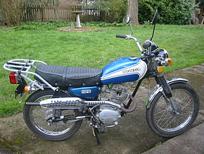 Honda CL125 - Wikipedia