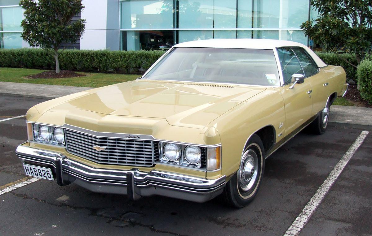 Chevrolet Impala Fifth Generation Wikipedia