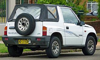 Suzuki Vitara - 1992–1994 Suzuki Vitara JX softtop (Australia)