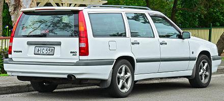 Volvo 850 Wagon Spoiler The