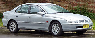 Chevrolet Omega - Holden Calais (VT) on which the equivalent Chevrolet Omega B is based