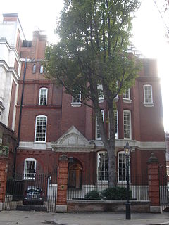 house on Palace Green, Kensington, London