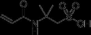 2-Acrylamido-2-methylpropane sulfonic acid - Image: 2 Acrylamido 2 methylpropane sulfonic acid