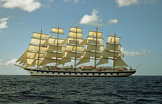 Royal Clipper - Image: 2001 Royal Clipper Karibik 020