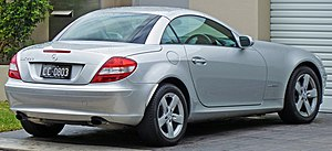 Mercedes-Benz SLK-Class - Mercedes-Benz SLK 200 pre-facelift