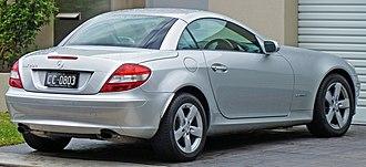 Mercedes-Benz SLK-Class - Mercedes-Benz SLK 200 pre-facelift