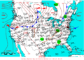 2005-07-14 Surface Weather Map NOAA.png