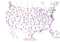 2006-04-24 Max-min Temperature Map NOAA.png