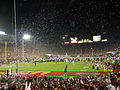 2006 Rose Bowl post-game celebration.jpg
