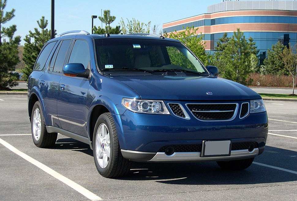 2006 Saab 9-7X blue