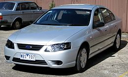 2007 Ford Falcon (BF II) XT sedan (2008-08-16) 01.jpg