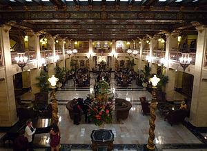 Downtown Spokane -  Lobby of the Davenport Hotel