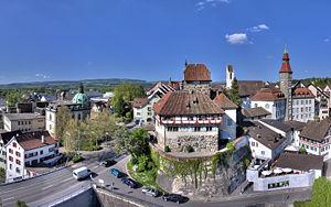 Thurgau - Image: 20080507 1708MESZ Schloss Frauenfeld 1680x 1050 HDR