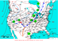 2009-04-25 Surface Weather Map NOAA.png