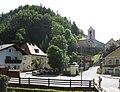2009-06-17 Schwarzenbach an der Pielach - Ortskern.jpg