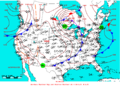 2009-06-28 Surface Weather Map NOAA.png
