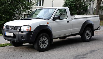 Nissan Motor Indonesia - Image: 2009 Nissan NP300 Pickup front