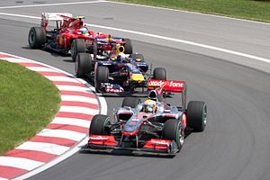 Formula One 2010 Rd.8 Canadian GP: Lewis Hamil...