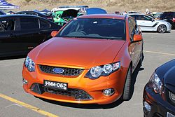 2011 Ford Falcon (FG) XR6 sedan (15590259114).jpg