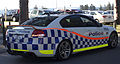 2012 Holden Commodore (VE II MY12) SV6 sedan, Western Australia Police (2015-11-14) 02.jpg