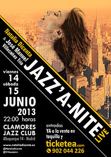 2013 Clamores Jazz Club Madrid Jazz'a-nite Natalia Dicenta.jpg