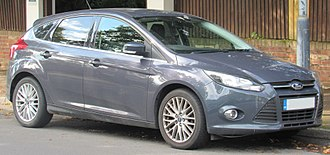 Ford Focus (third generation) - Image: 2013 Ford Focus Zetec Turbo Eco Boost 1.0