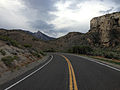 2014-07-18 18 46 34 View east along U.S. Route 6 about 124 miles east of the Esmeralda County Line in Nye County, Nevada.JPG