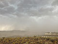 2014-07-20 15 00 35 Blowing dust along the outflow boundary of a thunderstorm in Elko, Nevada.JPG