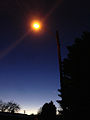 2014-11-17 16 49 43 Sodium vapor street light on West Cedar Street in Elko, Nevada.JPG