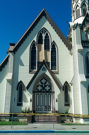 First Presbyterian Church (Napa, California) - 2014 earthquake damage to the First Presbyterian Church