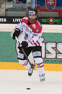 Dominique Heinrich Austrian ice hockey player
