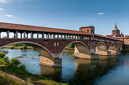 Ufficio Moderno Pavia : Ponte coperto di pavia wikipedia