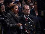 2017-01-28 - Nydia Velazquez and Jerry Nadler at the protest at JFK (81297).jpg