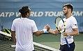 2017 Citi Open Tennis Marcos Baghdatis, Ryan Harrison (36345000305).jpg