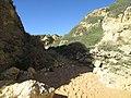 2018-02-02 Stoney pathway down to Praia de Coelha, Albufeira.JPG