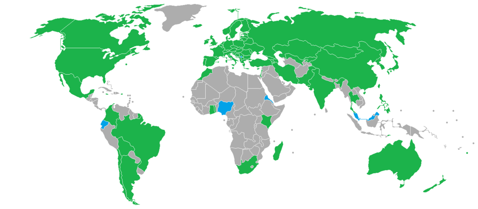 2018 Winter Olympics Participants