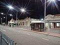 2019-04-11 2134 Fremantle railway station at night.jpg