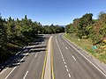2019-10-11 11 42 51 View west along U.S. Route 211 (Lee Highway) from the overpass for Virginia State Route 48 (Skyline Drive) at Thornton Gap within Shenandoah National Park in Page County, Virginia.jpg